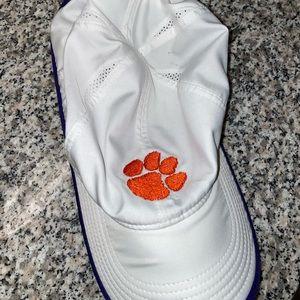White Nike Clemson Hat